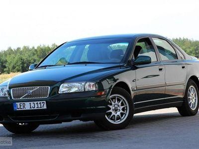 używany Volvo S80 2.4dm 140KM 2002r. 126 794km