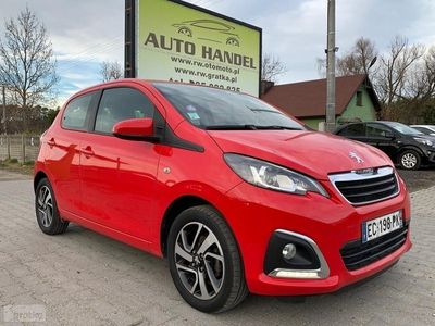 używany Peugeot 108 1,0 VVT-i 69KM, Klima, Kamera, Skóra!