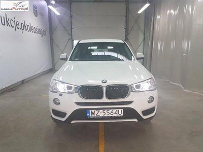 used BMW X3 X3 2dm3 150KM 2017r. 23 208kmsDrive18d Advantage aut
