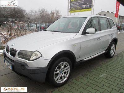 używany BMW X3 3dm3 204KM 2005r. 223 449km 3.0 DIESEL Automat Navi Skóra Alu 17