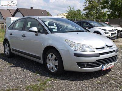 używany Citroën C4 1.6dm3 109KM 2007r. 135 000km 1.6 Automat, 109 KM, Klimatyzacja, Alu