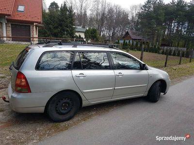 używany Toyota Corolla kombi D4D 2.0