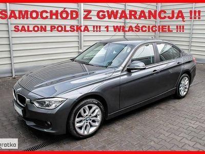 używany BMW 318 SERIA 3X DRIVE + Salon PL + 1 WŁ + 100% Serwis + Gwarancja !!!