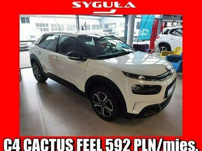 używany Citroën C4 Cactus 1.5dm 100KM 2020r. 5km
