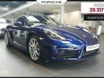 używany Porsche Cayman II [981] 2.0 (300KM) | + Sport Chrono + Asystent parkowania + Tempomat + PDLS