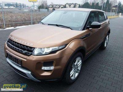 używany Land Rover Range Rover evoque Dynamic Demo Dealera Oferta specjalna