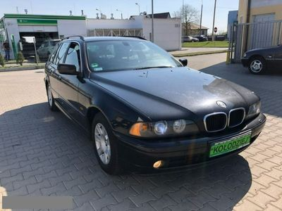 używany BMW 501 seria 5 2.0dm3 136KM 2000r.000km 2,0 D Navigacja! 2 komplety kół!