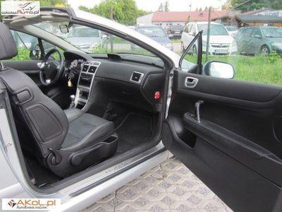 używany Peugeot 307 CC 1.6dm3 109KM 2007r. 140 114km 1.6 *100% Oryginał *Skóra *Klimatronik *Alu *Windshot *Gwarancja 6 m.