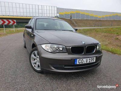 używany BMW 118 i 2.0 benzyna 2008r 6 biegów
