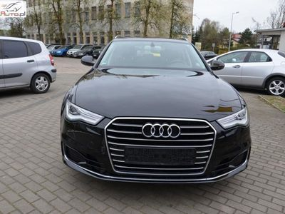used Audi A6 2dm3 190KM 2015r. 110 000km Bezwypadkowa, 110TKm, Serwis ASO, Navi+, Sportowe fotele z pamięcią