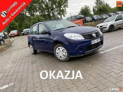 używany Dacia Sandero LPG Zamiana przebieg Oryginalny książki I (2008-2012)