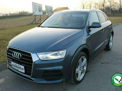 używany Audi Q3 2dm 220KM 2018r. 32 000km