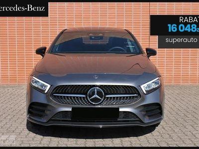 używany Mercedes 220 Klasa A W177 2.0 4M(190KM) | Linia AMG | Premium Plus + Night + MBUX