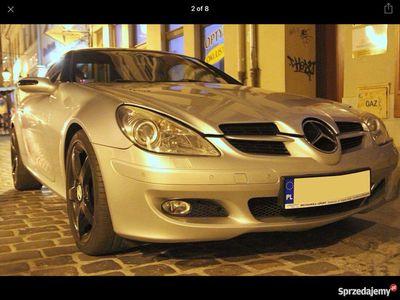 używany Mercedes 350 V6 SLK el.składany twardy dach, rok 2005