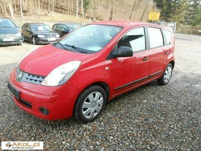 używany Nissan Note 1.4dm 88KM 2008r. 183 000km