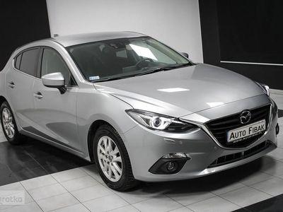 używany Mazda 3 III Salon PL*I rej 2016*Nawigacja*Podgrzewane fotele*6 biegów*Ksenon, Łódź