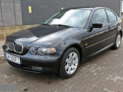 używany BMW 318 1.8dm 115KM 2003r. 136 000km