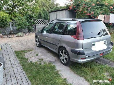 używany Peugeot 206 sw 1.4hdi części