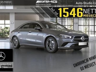 używany Mercedes CLA200 Klasa200d Coupe Advantage PARKTRONIC MBux PanoDach LED