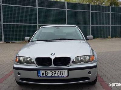 używany BMW 2002 E46 SREBRNY METALIC ,R. BENZYNA +GAZ