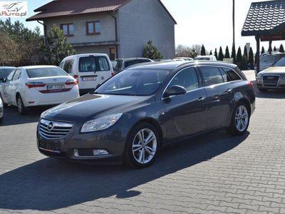 używany Opel Insignia 2dm3 130KM 2010r. 219 000km nawigacja // skóra // hak // alufelgi