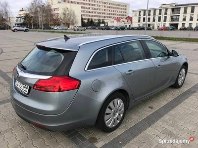 używany Opel Insignia bezwypadkowy oryginalny przebieg