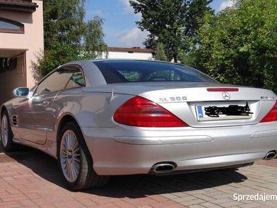 używany Mercedes SL500 w pakiecie AMG, ful opcja !piękny!