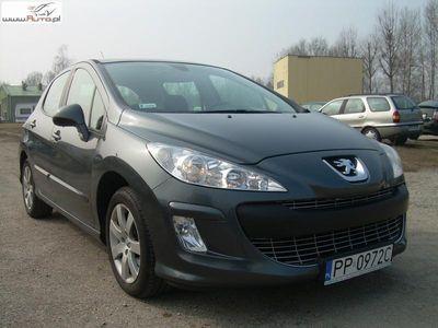 używany Peugeot 308 1.6 2007r. ABS ręczna klima.