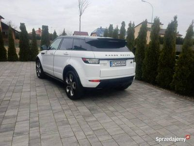 używany Land Rover Range Rover evoque Evoque 2.2SD4 190KM 4x4 76tys. km Bezwypadkowy
