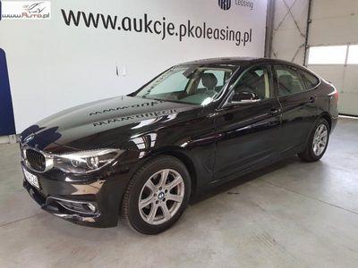 używany BMW 318 seria 3 2.0dm3 150KM 2017r. 20 718km Seria 3 Gran Turismo d Advantage aut