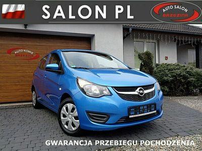 używany Opel Karl serwis ASO, bezwypadkowy, I-właściciel I (2015-)