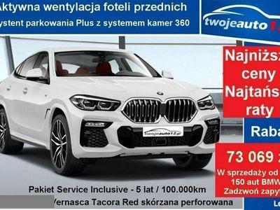używany BMW X6 G06 40d xDrive, Pakiet sportowy M, Business Class, Dach panoramiczny