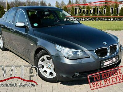 używany BMW 520 2,2b DUDKI11 Navi,Skóry,Serwis,Manual,Parktronic,Podg.Fotele.OKAZJA E60 (2003-2010)