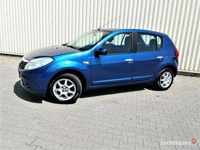 używany Dacia Sandero KLIMATYZACJA Gwarancja VIP-Gwarant Bezwypadkowy I (2008-2012)