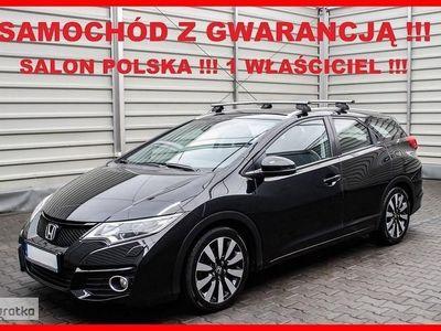 używany Honda Civic IX Salon POLSKA + 1 Właściciel + 100% Serwis !!!, Leszno