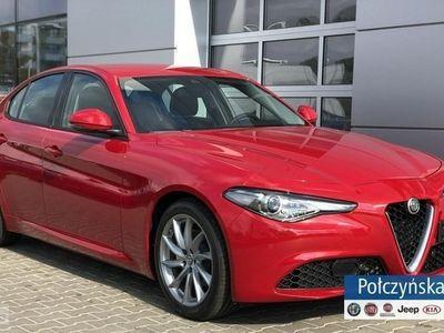brugt Alfa Romeo Giulia Super 2.0 200KM AT8 | Czerwony ALFA RED | Pakiet FLOTA +