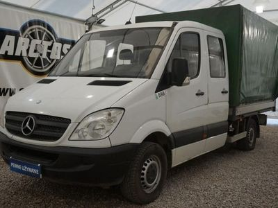 używany Mercedes Sprinter 906 2.2 CDI Doka 7os. F-VAT Salon PL 1wł.