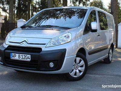 używany Citroën Jumpy 6 miejsc