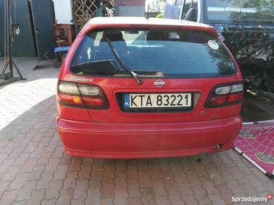 używany Nissan Almera n15 1998 1.4 sprzedam 1600zł długie oc i bt