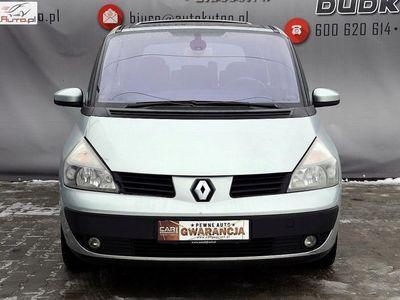 brugt Renault Espace 2dm3 165KM 2007r. 238 000km 2,0T Klimatr Alus Navi Panorama Opłacony 301