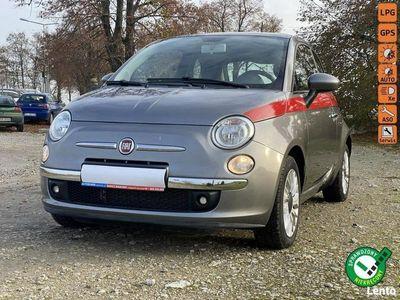 używany Fiat 500 Raty uproszczone 1.2 benz, tylko 70tys km klima, Panorama Gwarancja