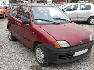 używany Fiat Seicento (600) 0.9dm3 39KM 2001r. 69 000km !!! Bemowo !!! 0.9 Benzyna, 2001 rok produkcji !!! KOMIS TYSIAK !!!