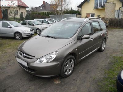 używany Peugeot 203 307 SW 1.6dm3 109KM 2004r.474km ABS automatyczna klima.