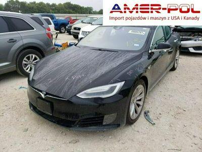 używany Tesla Model S 2016, 60D, po gradobiciu