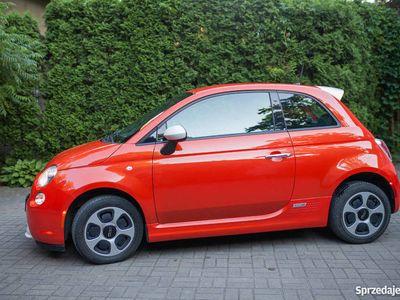 używany Fiat 500e 2014 niski przebieg, elektryczny