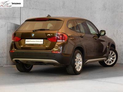 used BMW X1 X1 2dm3 204KM 2010r. 200 450kmxDrive 23d | Navi | Sportowe fotele |