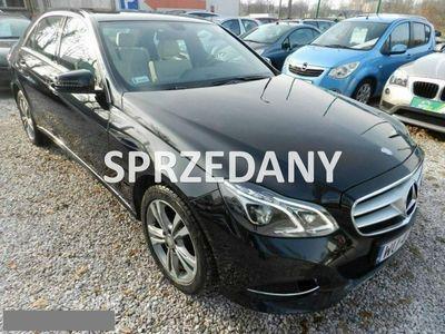 używany Mercedes E220 2.1dm 170KM 2015r. 126 616km