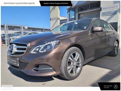 brugt Mercedes 220 Klasa E W212CDI Salon PL historia ASO Faktura VAT marża