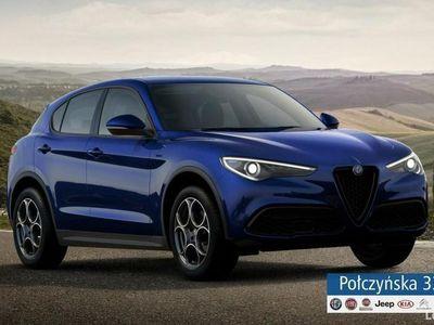 używany Alfa Romeo Stelvio Sprint Q4 2.0 200 KM AT | Niebieski Anodized | Rata od 2199 zł netto