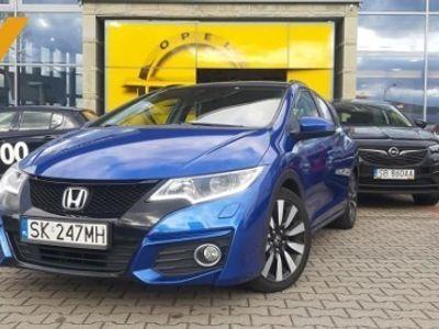używany Honda Civic IX TOURER Elegance 1.8 - 140 KM Krajowy Serwis ASO Piękny kolor